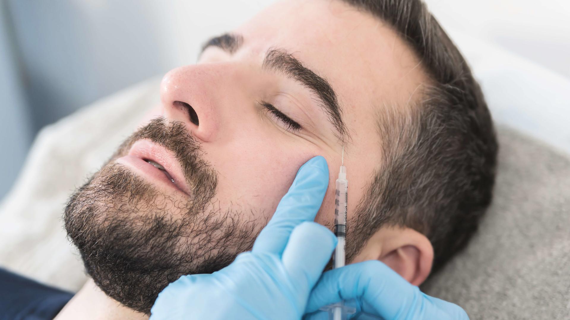 Faltenbehandlung mit Botox