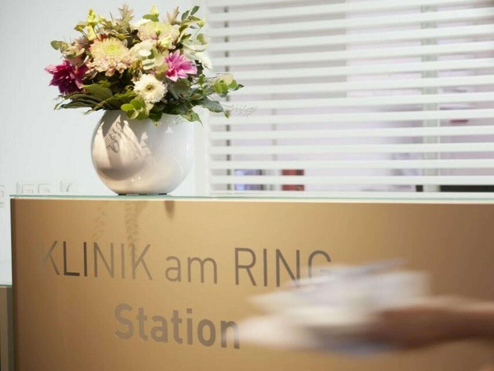 Patientenzimmer KLINIK AM RING: Rezeption